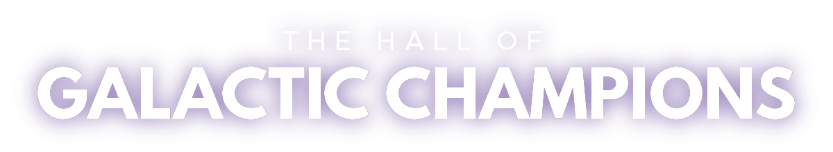 Hall of Galactic Champions logo