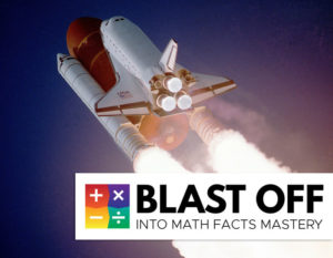 blast off into math facts fluency