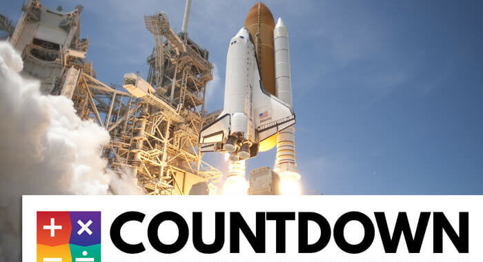 An image of our countdown logo.
