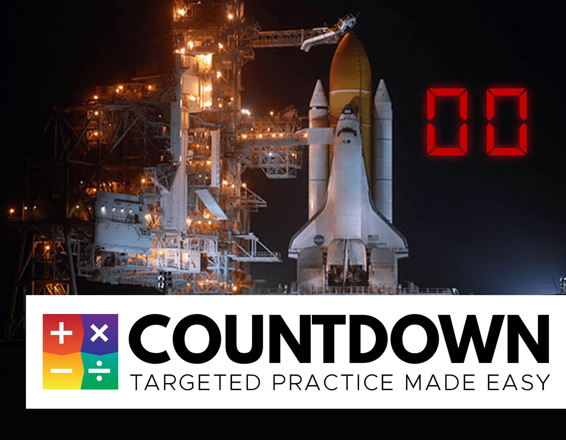 countdown math facts matter software