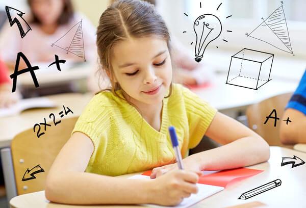girl pass math test