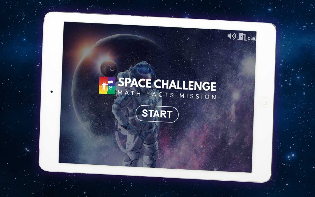 Space Challenge on Tablet