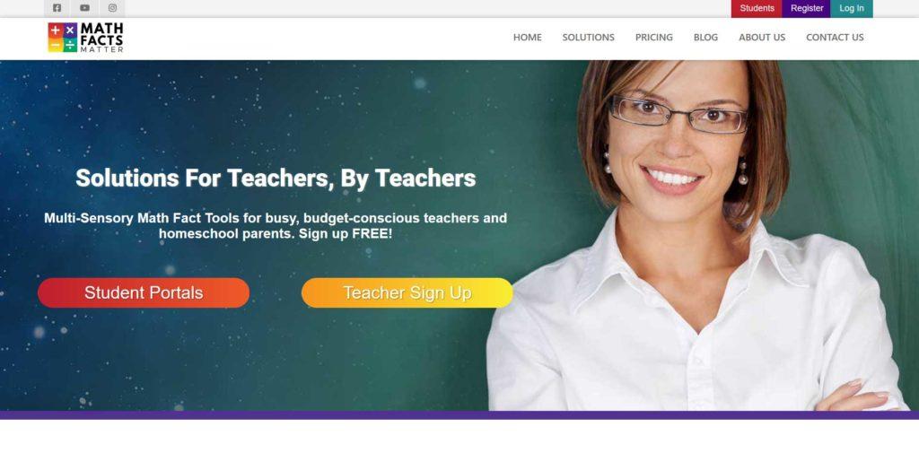 Math Facts Matter website