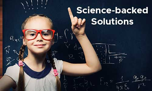 science-backed solutions