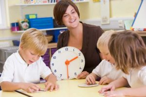 teaching about time in class