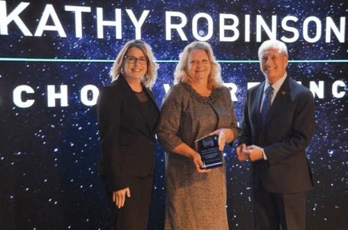 Kathy Robinson receives Dream Big Oklahoma award